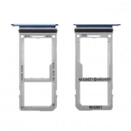 Tiroir SIM + SD Samsung Galaxy Note 8 Bleu