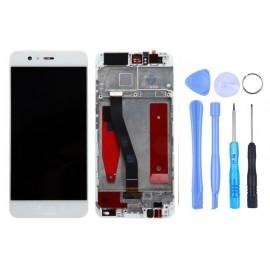 Ecran complet avec châssis Huawei P10 Blanc d'origine Huawei + outils