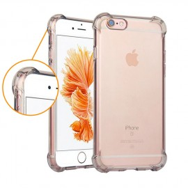 Coque silicone transparente coins renforcés iPhone 6 Plus / 6S Plus