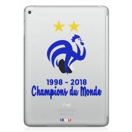 Coque Champions du Monde iPad Hevoli ®
