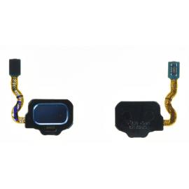 Nappe capteur d'empreinte Bleu océan Samsung Galaxy S8 / S8 +