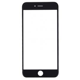 Vitre tactile avec châssis et film OCA iPhone 7 Plus Noir