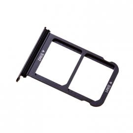 Tiroir double carte SIM Huawei P20 Noir