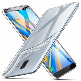 Coque silicone transparente Samsung Galaxy J6 +