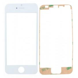 Vitre seule blanche pour iPhone 5/5S/5C