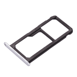 Tiroir SIM + SD Huawei P8 Lite (2017) / Honor 8 Lite Blanc