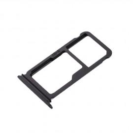 Tiroir SIM + SD Huawei P10 Plus Noir