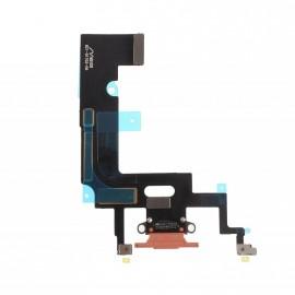 Connecteur de charge iPhone XR Corail