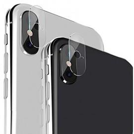 Film en verre trempé lentille caméra arrière iPhone X / XS