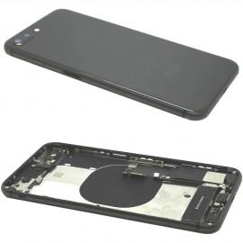 Coque arrière complète iPhone 8 Plus Gris Sidéral