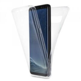 Coque intégrale silicone transparente Samsung S8+