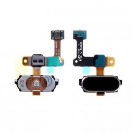 "Nappe bouton home Samsung Galaxy Tab S2 9,7"" Noir"
