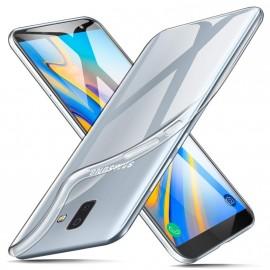Coque silicone + verre trempé Samsung Galaxy J6+ (2018)
