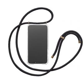 Coque cordon noir iPhone Xs Max