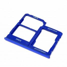 Tiroir SIM + SD Samsung Galaxy A40 Bleu