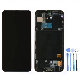Ecran complet d'origine Samsung Galaxy A40 Noir + outils