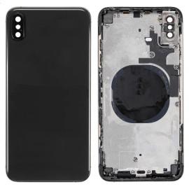 Coque arrière iPhone Xs Max Gris sidéral