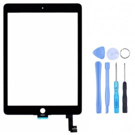 Vitre tactile iPad Air 2 Noir + outils