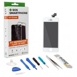 Kit complet réparation écran iPhone 5 Blanc