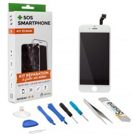 Kit complet réparation écran iPhone 6 Blanc