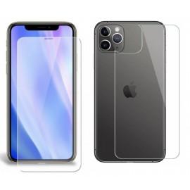 Pack verre trempé avant + arrière iPhone 11 Pro Max