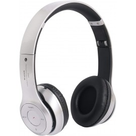 Casque Bluetooth sans fil gris