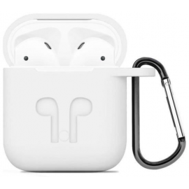 Étui de protection AirPods blanc