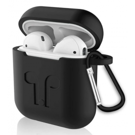 Étui de protection AirPods noir