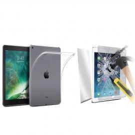 Coque silicone + verre trempé iPad Air 2