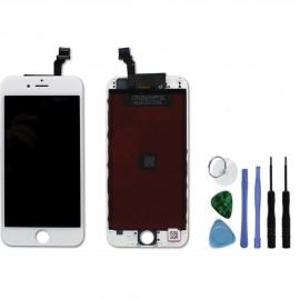 Vitre + écran de remplacement iPhone 6 blanc