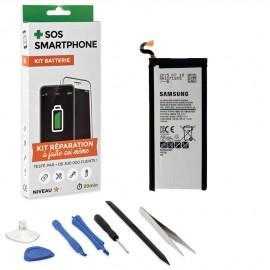 Kit réparation batterie Galaxy S6 Edge +