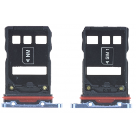 Double tiroir SIM Huawei P30 Pro Bleu Nacré