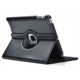 Etui cuir noir 360° iPad 2 / 3 / 4
