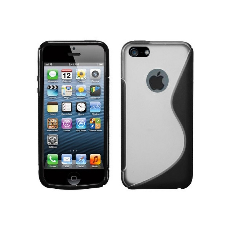 Housse silicone s line iphone 5 5s se for Housse iphone 5
