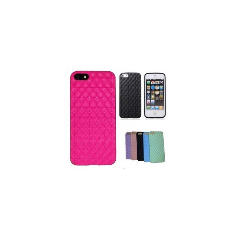 Housse silicone damier pour iphone 5 5s se for Housse pour iphone 5