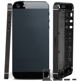 Coque arrière de remplacement noire iPhone 5