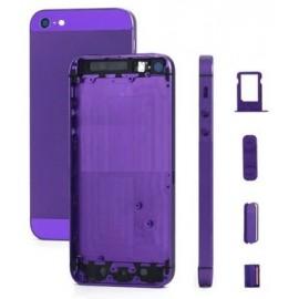 Coque arrière violet iPhone 5