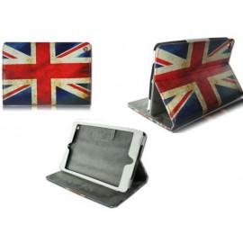 Etui à rabat cuir anglais iPad Mini 1/2/3