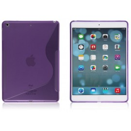 Housse en silicone S Line violet iPad Air