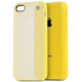 Coque bumper iPhone 5C jaune