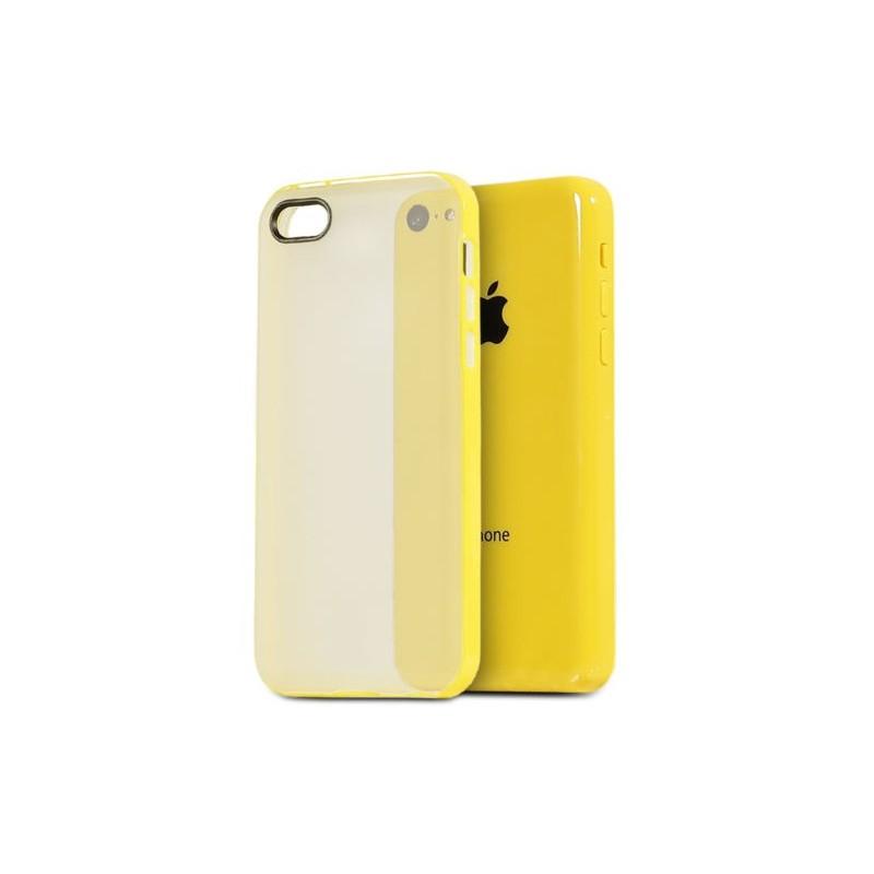 coque bumper jaune pour iphone 5c pas cher tout pour phone. Black Bedroom Furniture Sets. Home Design Ideas