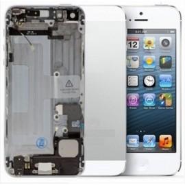 Coque arrière blanche complète pour iPhone 5