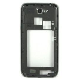 Chassis noir intermédiaire Samsung Galaxy Note 2