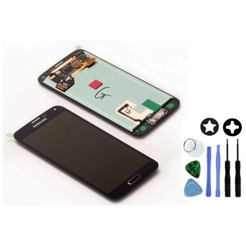 ecran complet d 39 origine samsung galaxy s5 tout pour phone. Black Bedroom Furniture Sets. Home Design Ideas