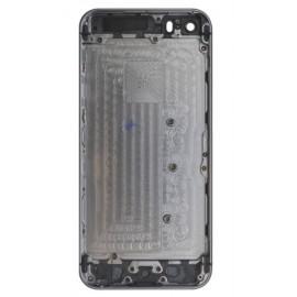 Coque arrière simple iPhone 5S noir