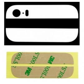 Vitre arrière bas + haut blanc iPhone 5S + scotch 3M