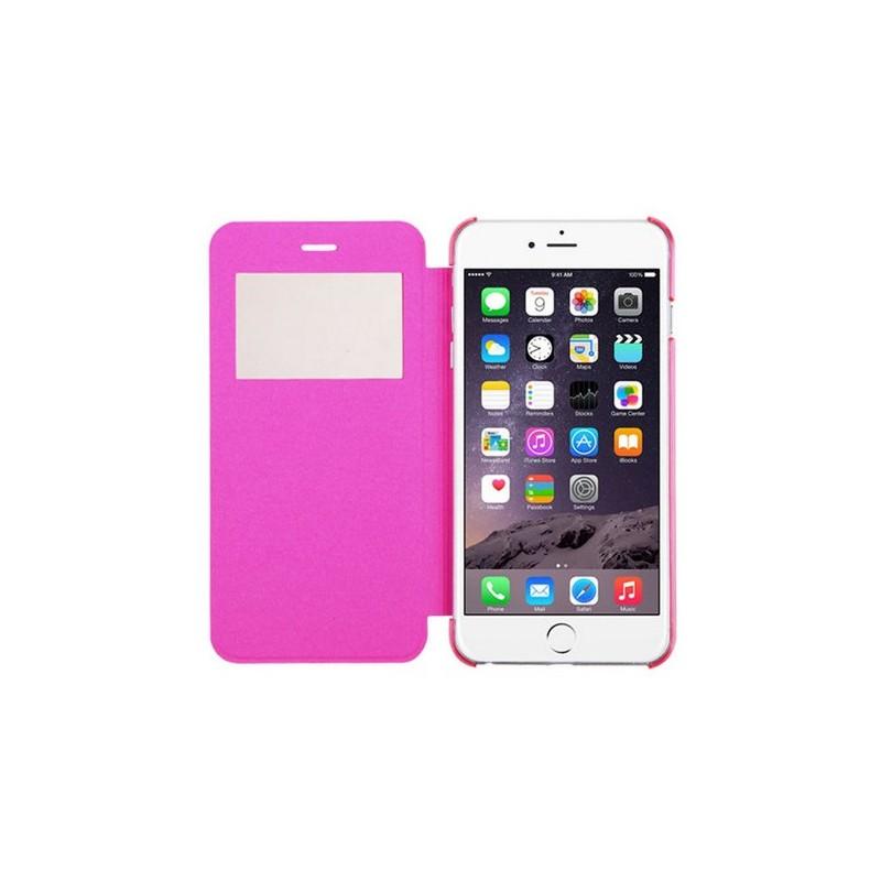 etui de protection flipcover rose iphone 6 6s tout pour phone. Black Bedroom Furniture Sets. Home Design Ideas