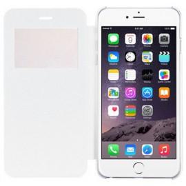 Etui Flip Cover blanc iPhone 6 Plus / 6S Plus