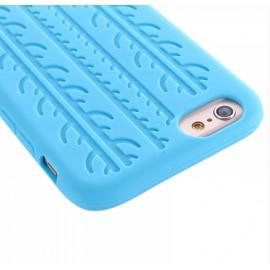 Coque silicone Pneu bleu ciel iPhone 6 / 6S