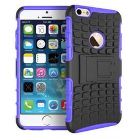 Coque Silicone Anti-Choc Violet iPhone 6